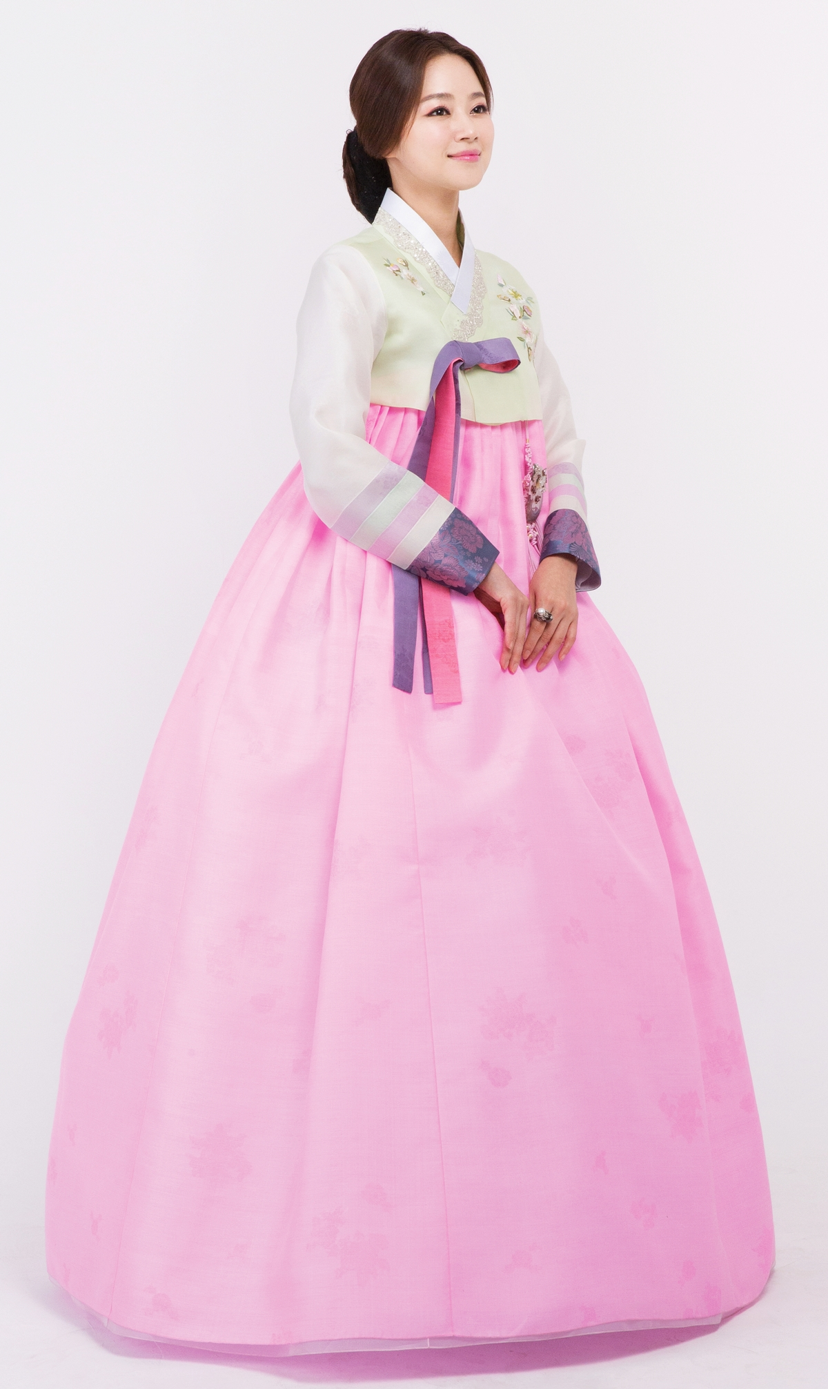 Korean Traditional Hanbok Dress For Wedding